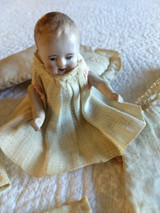 Antique Bisque Doll Germany 9769 Fully Jointed Painted Features Clothes