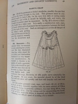 Woman Institute Domestic  Arts Sewing Book Maternity Infant Clothing 1917