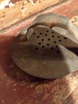 Antique 1880 Americana Tin Cookie Cutter Bird Duck Fowl Handmade Punch Star