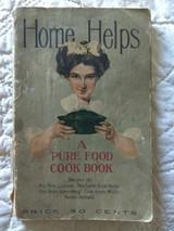 1900s Home Helps Recipe Cottonlene  Shortening Cook Book