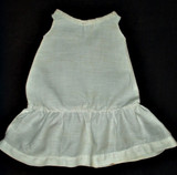Antique 1900 Victorian  White Cotton Doll Slip For Bisque Doll
