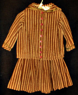 Victorian 1890s To Edwardian Children Toddler Boy 2 Piece Dress