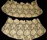 Antique Vintage Edwardian Machine Net Lace Cuff Dress Embellishment