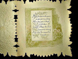 Antique Victorian 1880 Paper Lace Pop Up Valentine Greeting Card Child Kitten