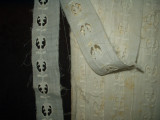 Victorian 1900's Whitework Embroidery Swiss Eyelet Insertion Trim