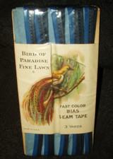 Vintage Bird Of Paradise Fine Lawn Bias Seam Tape Trim