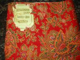 A Small Collection of 19th And 20th Century Fabrics ~ Yardage For Home Sewing