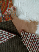 56 Antique Quilt Blocks Hand Stitched Pieced Calico Victorian Fabrics