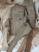 Antique J R Van Dames Dressmaking  Journal  School System 1893