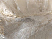 Early 19th C Day Bonnet White Muslin Embroidery Hand Stitched