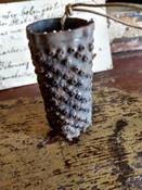 18th Century Tin Nutmeg Grater Hand Made Antique Provenance