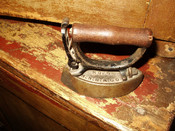 Antique Sensible No 6 Toy Sad Iron Nelson R. Streeter & Co. New York