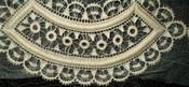 Antique Vintage 1920s Lace Appliques Embellishment Dress Trim