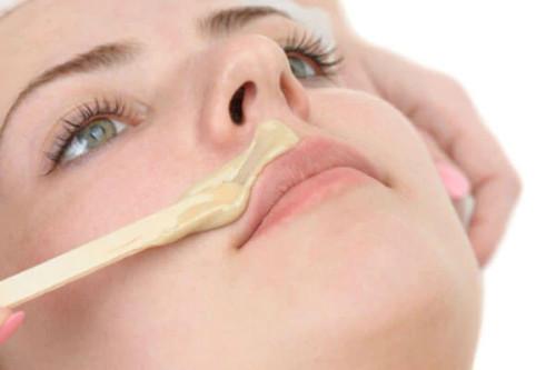 Waxing (lip)