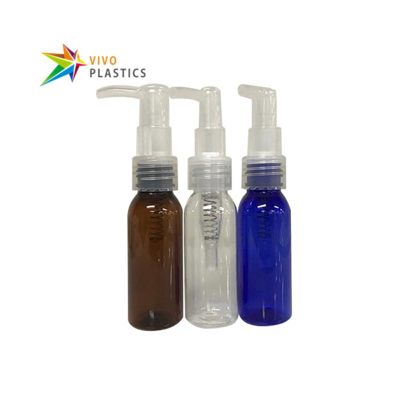 1333fb47c99f 30ml PET Plastic Round Shoulder Bottle with Oil Pump