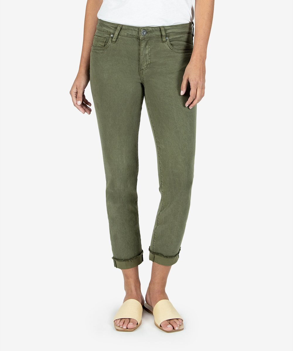 KUT FROM THE KLOTH AMY CROP PANTS