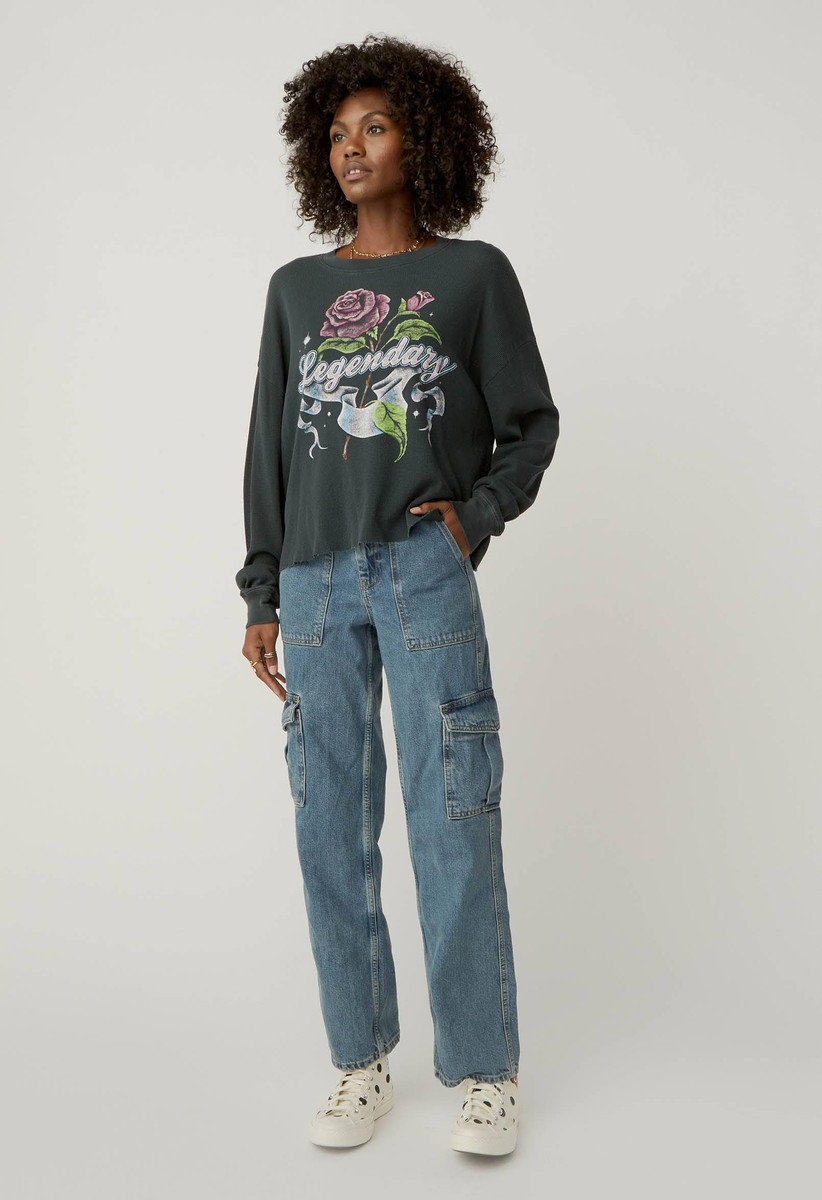 DAYDREAMERS LEGENDARY THERMAL CROP TOP
