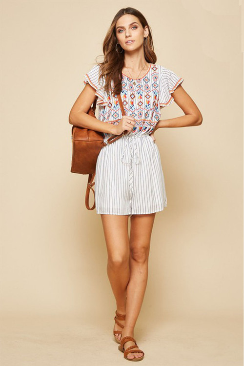 MILLER ROMPER: AVAILABLE IN PLUS SIZES
