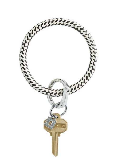 O VENTURE KEY RING LEATHER: MORE COLORS