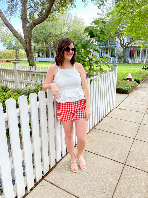 SADIE GINGHAM SHORTS