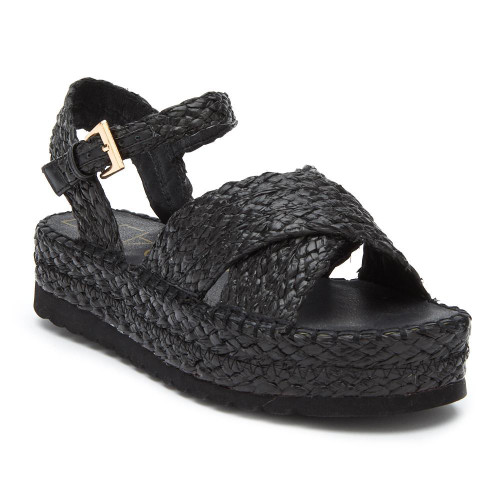 MATISSE SUNSHINE WEDGE IN BLACK