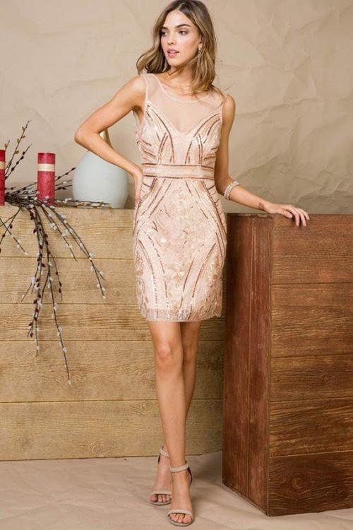 EMMA SEQUIN DRESS