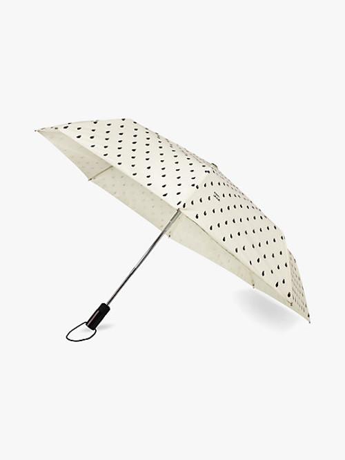 KATE SPADE TRAVEL UMBRELLA IN RAIN DROP