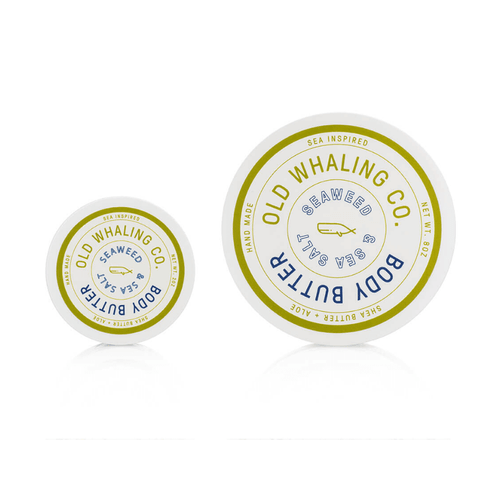 OLD WHALING COMPANY SEAWEED + SEA SALT BODY BUTTER