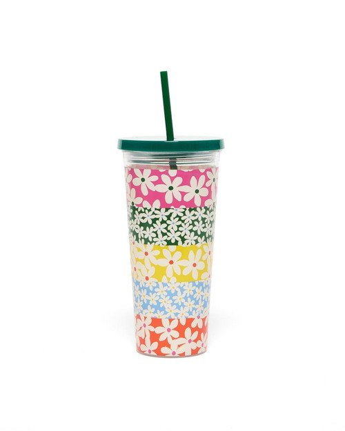 BAN.DO SIP SIP TUMBLER IN DAISIES