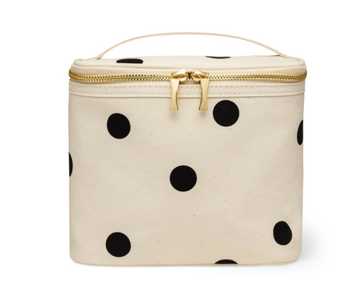 KATE SPADE LUNCH TOTE IN DECO DOT