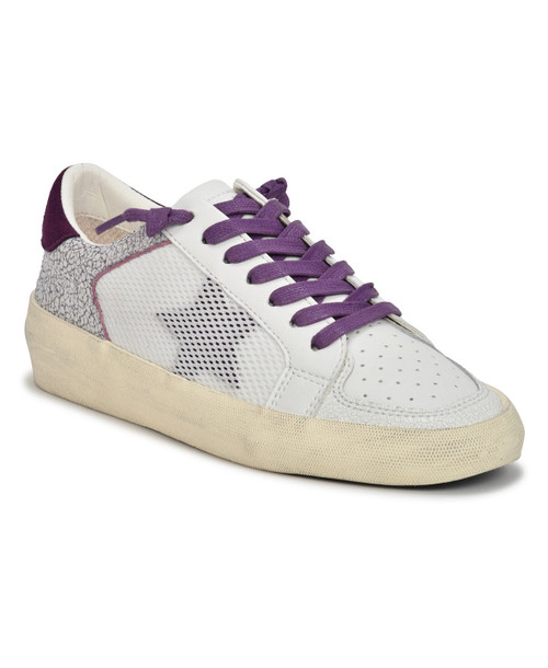 VINTAGE HAVANA ROCKER SNEAKER IN PURPLE MARBLE