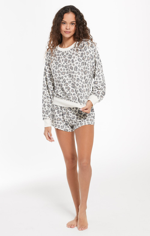 Z SUPPLY ELLE LEO LONG SLEEVE TOP