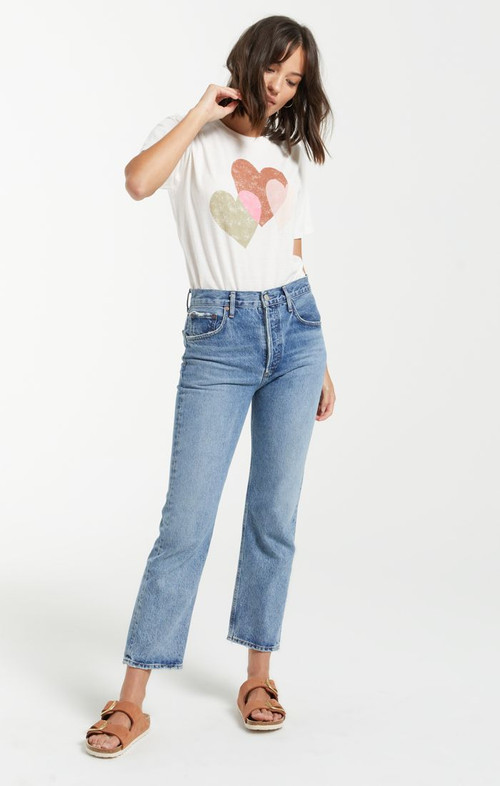 Z SUPPLY ALL MY HEART TEE