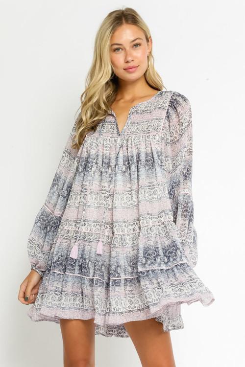 REX BABYDOLL DRESS