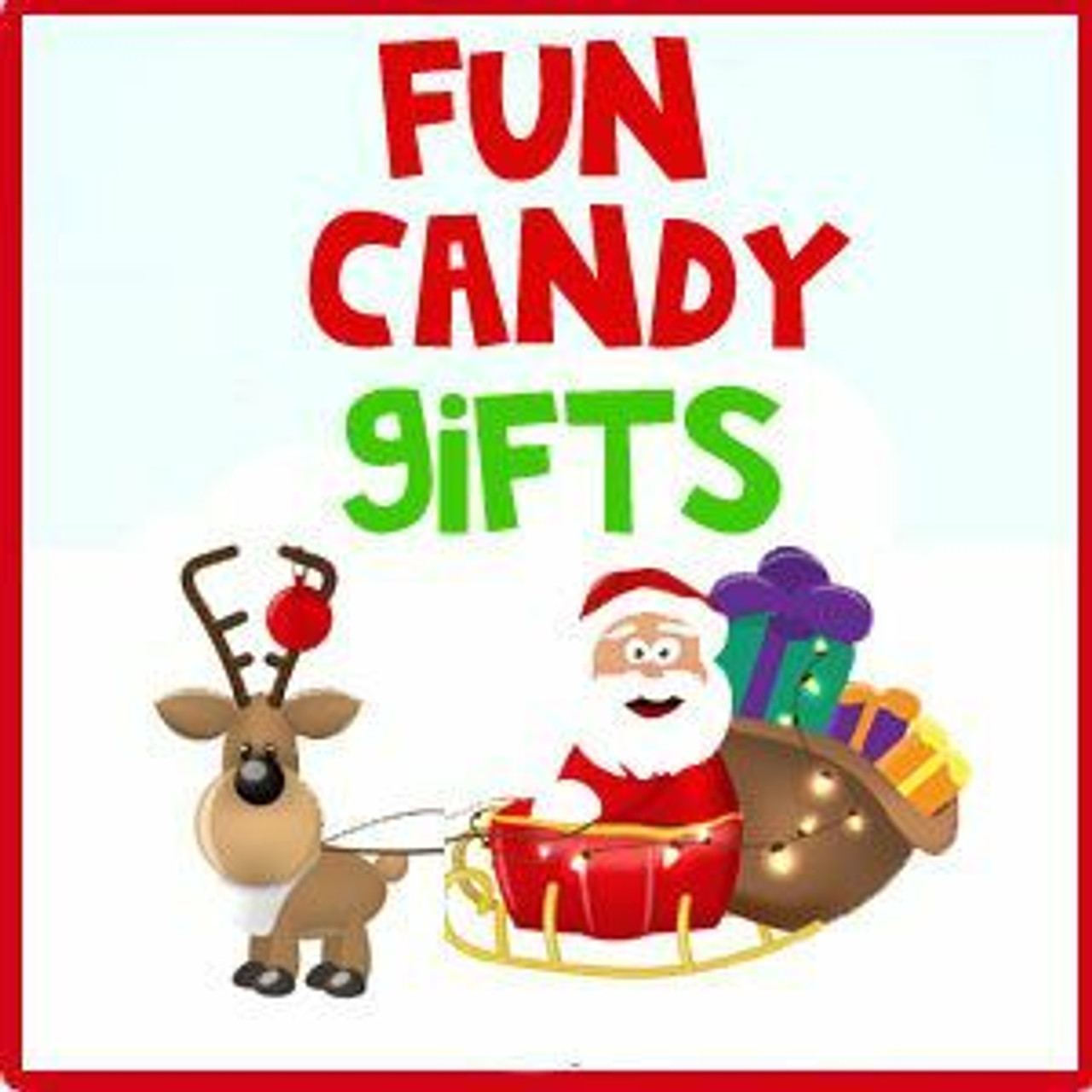 Fun Christmas Candy Gifts