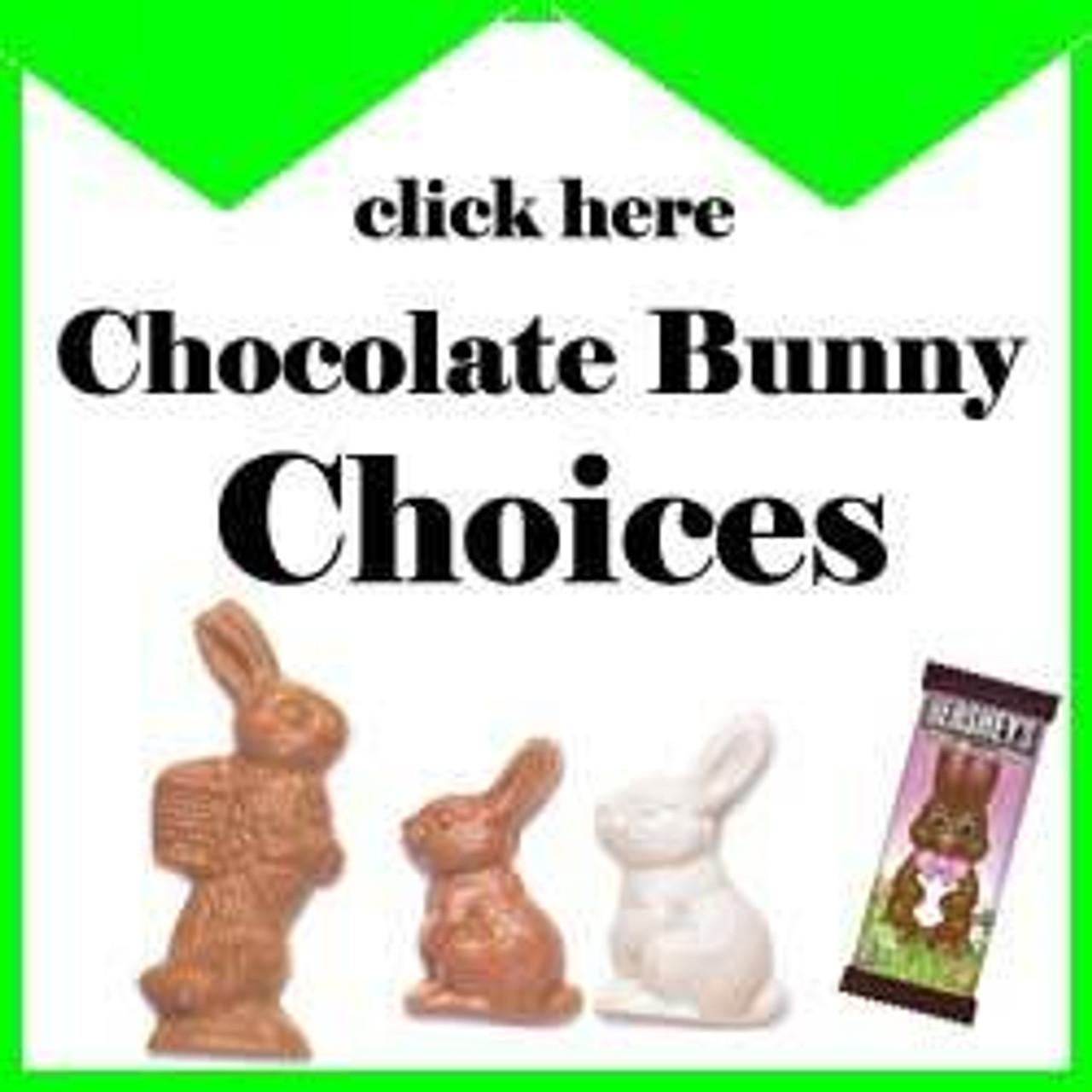 Chocolate Bunny Choices