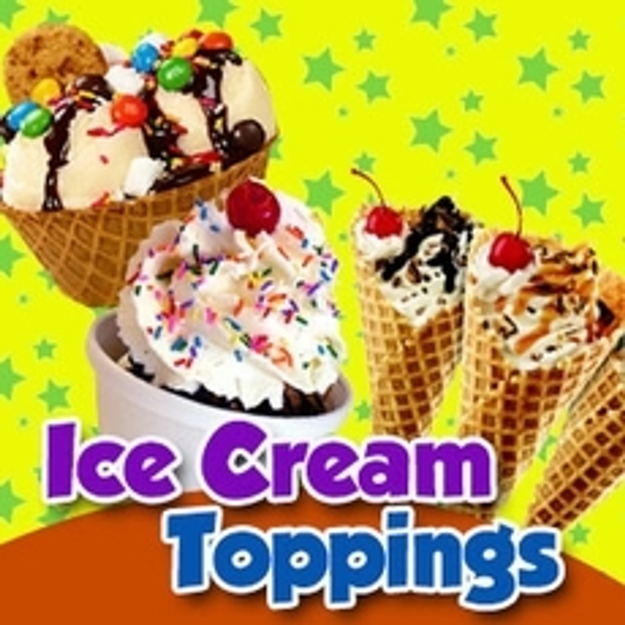Ice Cream Toppings - Baking