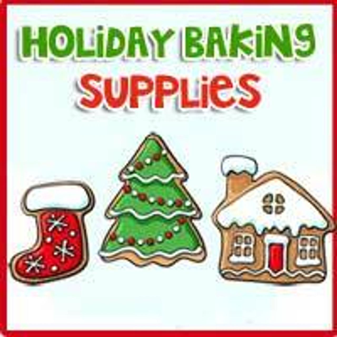 Holiday Baking Supplies Selections