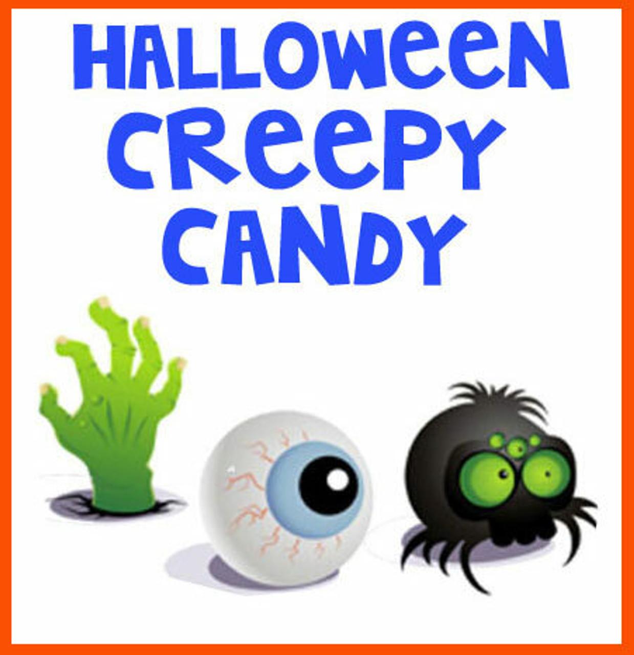 Creepy Scary Halloween Candy