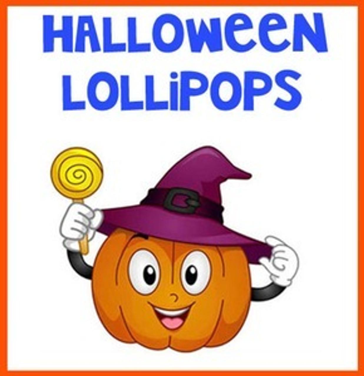 Halloween Lollipop Selections