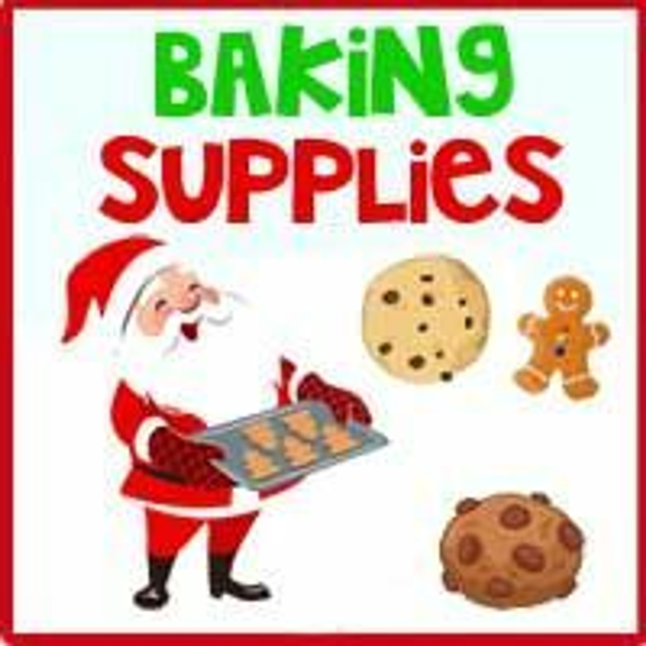 Holiday Baking Candy & Supplies