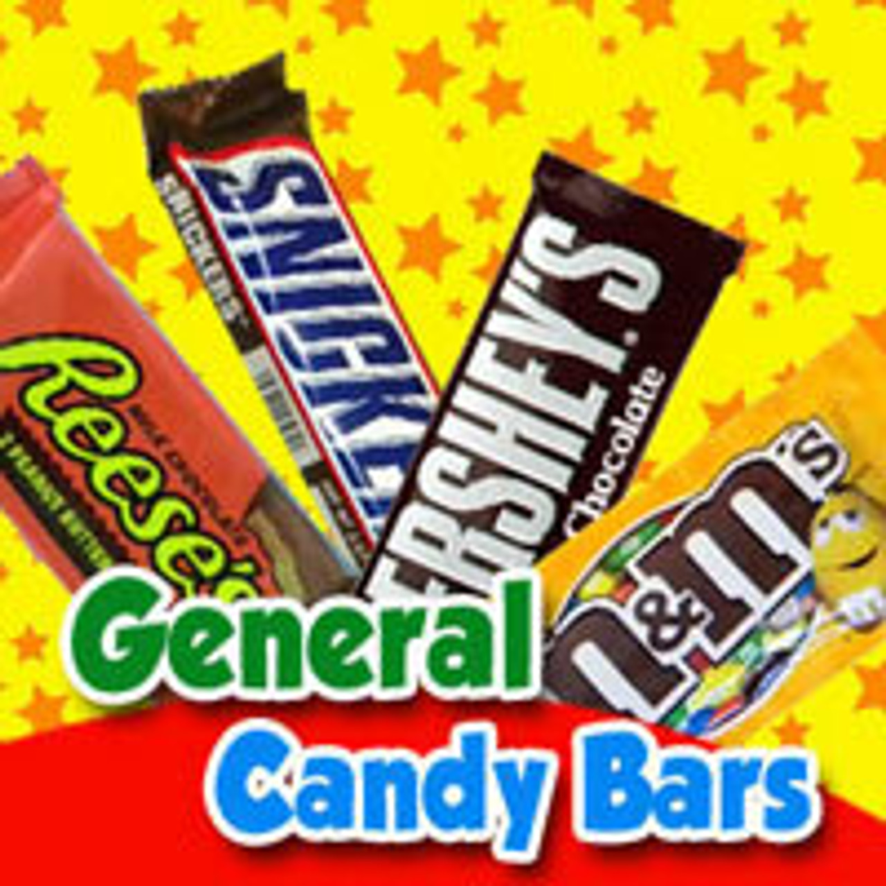 General Candy Bars