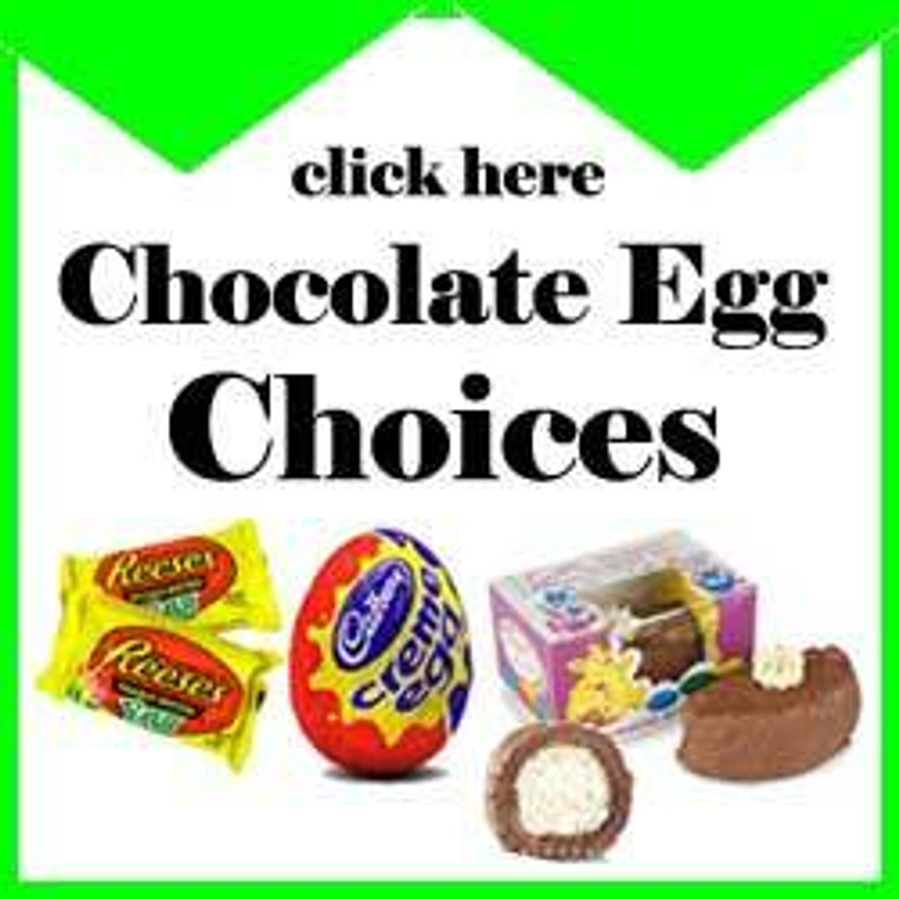 Chocolate Easter Egg Choices