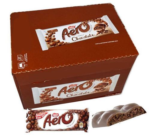 Aero Milk Chocolate Bar 24 Count (UK)