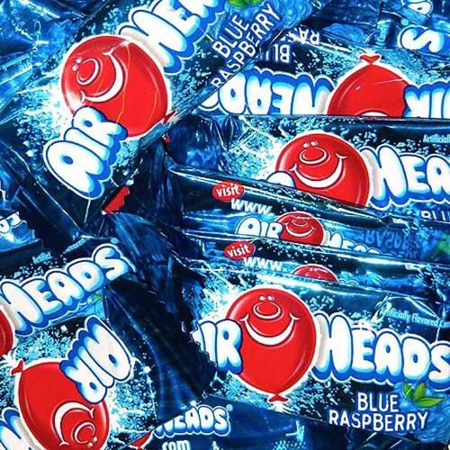 Air Heads Mini's Blue Raspberry Mini's 25lb Box