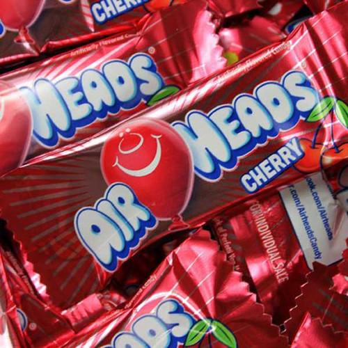 Air Heads Mini Cherry Bulk 25lb Box