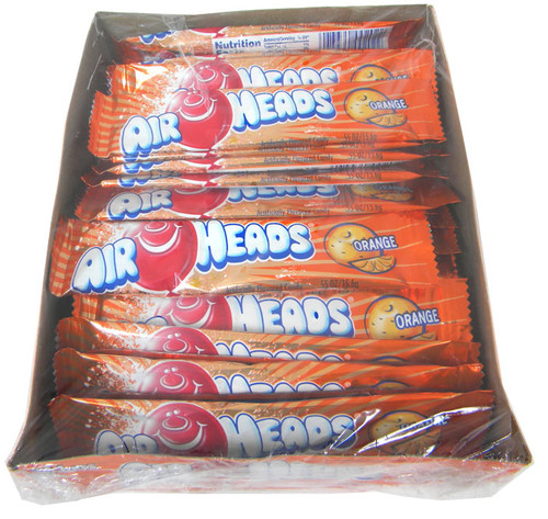 Air Heads Taffy Orange  36ct
