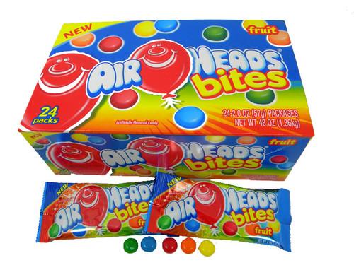 Airheads Bites Fruit 18 Count