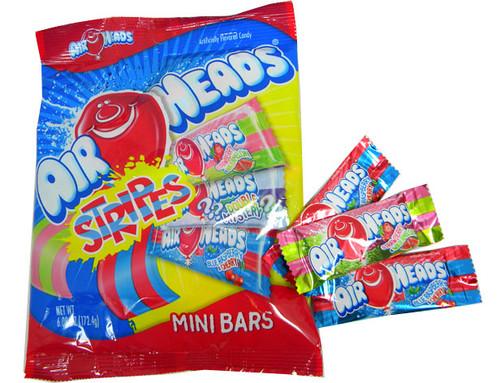 AirHeads Stripes Mini's 15 Count Bag