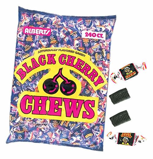 Black Cherry Chews 240 Count